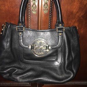 Tory Burch Handbag with logo buckle
